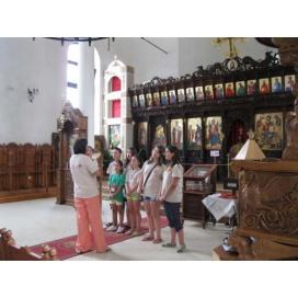 """Детски хор """"Чисти сърца"""" се поклони пред мощите на Свети Йоан Кръстител в Созопол"""